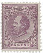 Holland 1872/1888 - NVPH 26 - Ubrugt