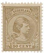 Holland 1891/1894 - NVPH 43c - Ubrugt