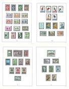 Belgien - Postfrisk samling 1953-1967