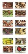France - Papillons - Carnet neuf avec des effets spéciaux