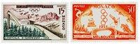 Monaco 1956 - YT 442/443 - Neuf