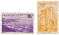 Monaco 1957 - YT 487/488 - Neuf
