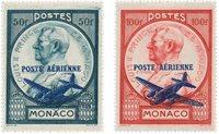 Monaco 1946 - YT PA13/14 - Neuf