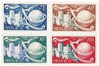 Monaco 1949/1950 - YT PA45/48 - Neuf