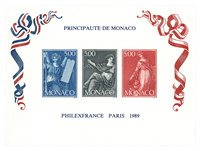 Monaco 1989 - YT BF47 - Neuf