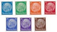 Tyskland - Tyske Rige 1932 - Michel 467/473 - Ubrugt