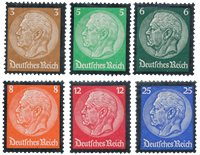 Empire Allemand 1934 - Michel 548/553 - Neuf avec charnières