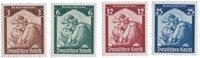 Empire Allemand 1935 - Michel 565/568 - Neuf avec charnières
