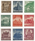 Empire Allemand 1940 - Michel 751/759 - Neuf avec charnières
