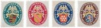 Empire Allemand 1926 - Michel 398/401 - Neuf
