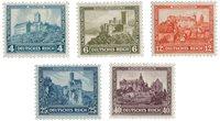 Tyskland - Tyske Rige 1932 - Michel 474/478 - Postfrisk