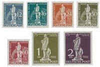 Allemagne/Berlin 1949 - Michel 35/41 - Neuf avec charnières