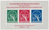 Allemagne/Berlin 1949 - Michel bloc 1 - Neuf avec charnières