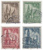 Allemagne/Berlin 1953 - Michel 106/109 - Oblitéré