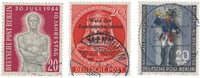 Allemagne/Berlin 1954 - Michel 118/120 - Oblitéré