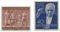 Allemagne/Berlin 1954 - Michel 124/125 - Neuf