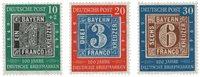 Allemagne 1949 - Michel 113/115 - Neuf avec charnières