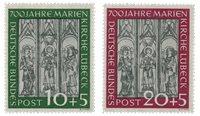 Allemagne 1951 - Michel 139/140 - Neuf avec charnières