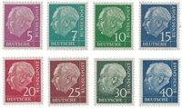 Tyskland 1954 - Michel 179y/260y - Postfrisk
