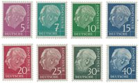Allemagne 1954 - Michel 179y/260y - Neuf