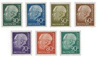 Allemagne 1956 - Michel 259/265 - Neuf