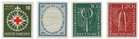 Tyskland 1953/1955 - Michel 164/218 - Postfrisk
