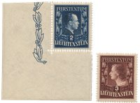 Liechtenstein 1951 - Michel 304/305A - Neuf