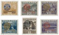 Autriche 1931 - Michel 518/523 - Neuf