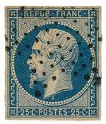 Frankrig 1852 - YT 10 - Stemplet