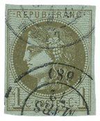 France 1870 - YT 39C - Oblitéré