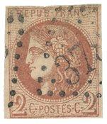France 1870 - YT 40B - Oblitéré