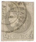France 1870 - YT 41B - Oblitéré
