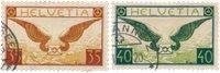 Schweiz 1929 - Michel 233/234x - Stemplet