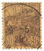 Monaco 1919 - YT 31 - Oblitéré