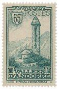 Fransk Andorra 1932/1933 - YT 36 - Postfrisk