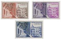 Monaco 1952 - YT 383/385 - Neuf
