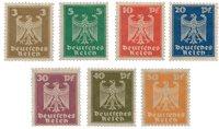 Empire Allemand 1924 - Michel 355/361 - Neuf avec charnières