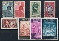 Andorre français 1967 - YT 179/186 - Neuf
