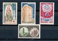 Andorre français 1964/1965 - YT 171/174 - Neuf