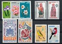 Andorre français 1974 - YT 234/242 - Neuf