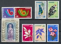 Andorre français 1973 - YT 226/233 - Neuf