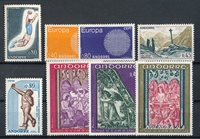 Andorre français 1970 - YT 201/208 - Neuf