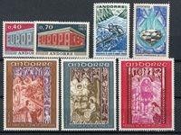 Andorre français 1969 - YT 194/200 - Neuf