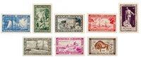 Monaco 1949 - YT 324/331 - Neuf