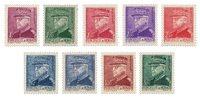 Monaco 1941/1942 - YT 225/233 - Neuf