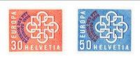 Suisse 1959 - Michel 681/682 - Neuf