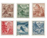 Suisse 1948 - Michel 500/505 - Neuf