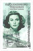 Østrig - Filmhistorie Hedy Lamarr Frekvensspring - Postfrisk frimærke
