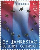 Autriche - 25 ans dans l'Union Européenne - Timbre neuf