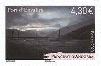 France - Port Envalira - Timbre neuf